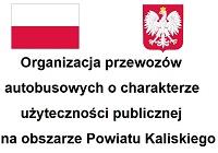 Organizacja przewozów autobusowych o charakterze użyteczności publicznej na obszarze Powiatu Kaliskiego w roku 2021