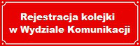 Rejestracja kolejki w Wydziale Komunikacji