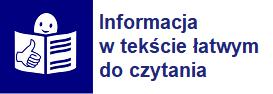Informacja w tekście łatwym do czytania