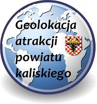 Geolokacja atrakcji powiatu kaliskiego
